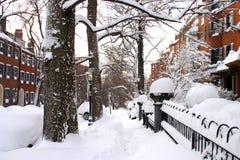 Stock image of Boston Winter Stock Photos