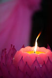 Stock image of Candles with a soft background Stock Photography