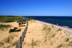 Stock image of Cape Cod, Massachusetts, USA. Cape Cod is an arm-shaped peninsula nearly coextensive with Barnstable County, Massachusetts[1] and forming the Royalty Free Stock Photos