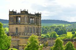 Stock image of Chatsworth House, Derbyshire, Britain.  Stock Photo