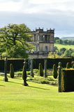 Stock image of Chatsworth House, Derbyshire, Britain.  Royalty Free Stock Photos