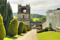 Stock image of Chatsworth House, Derbyshire, Britain.  Stock Images