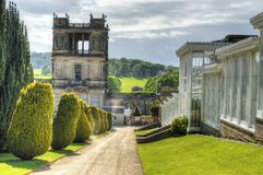 Stock image of Chatsworth House, Derbyshire, Britain.  Stock Photography