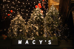 Stock image of Christmas decoration in USA Stock Image