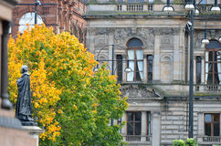 Stock image of City Chambers in George Square, Glasgow, Scotland Royalty Free Stock Photos