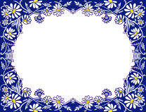 Stock image of Daisies Frame. Pretty hand-drawn frame with white daisies .Nice design element for print/web projects vector illustration