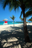 Stock image of Doctor's Cave Beach Club, Montego Bay, Jamaica Stock Images