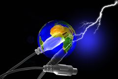 Stock Image of Earth Connection Concept Stock Photo