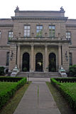 Stock image of Elms Mansion in Newport, Rhode Island Stock Image