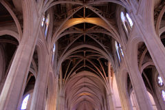 Stock image of Grace Cathedral, San Francisco, California, USA Royalty Free Stock Photos