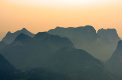Stock image of Guilin Yaoshan Mountain, China Royalty Free Stock Photo