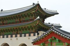 Stock image of Gyeongbok Palace, Seoul, Korean Republic Stock Images