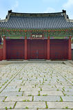 Stock image of Gyeongbok Palace, Seoul, Korean Republic Royalty Free Stock Photography