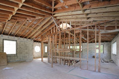 Stock image home interior under construction Royalty Free Stock Images