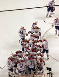 Stock image of Ice Hockey Game.  stock photo