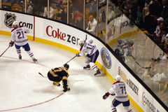 Stock image of Ice Hockey Game.  royalty free stock photography