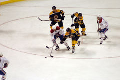 Stock image of Ice Hockey Game.  royalty free stock images
