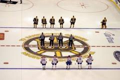 Stock image of Ice Hockey Game at Boston.  royalty free stock photos