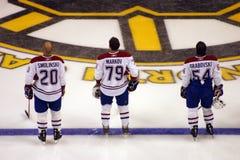 Stock image of Ice Hockey Game at Boston.  stock photos