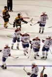Stock image of Ice Hockey Game at Boston.  stock photo