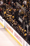 Stock image of Ice Hockey Game at Boston.  royalty free stock photo