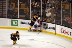 Stock image of Ice Hockey Game at Boston.  stock photography
