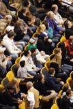 Stock image of Ice Hockey Game at Boston.  royalty free stock photography