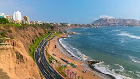 Stock image of the landscape of Peru royalty free stock images