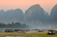 Stock image of Landscape in Yangshuo Guilin, China Stock Image