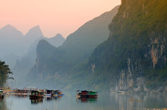 Stock image of Landscape in Yangshuo Guilin, China Royalty Free Stock Photos