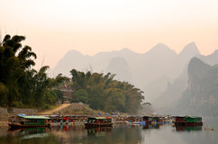 Stock image of Landscape in Yangshuo Guilin, China Stock Photography