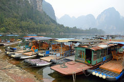 Stock image of Landscape in Yangshuo Guilin, China Royalty Free Stock Images