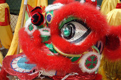 Stock image of Lion Dance Royalty Free Stock Images