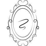 Stock Image: Mirror. Abstract illustration of a mirror vector illustration