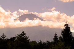 Stock image of Mount Fuji, Japan royalty free stock photo