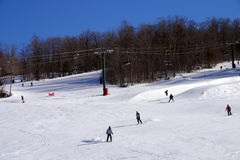 Stock image of New England winter Royalty Free Stock Photos