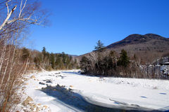 Stock image of New England winter Stock Photography