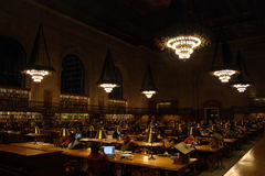 Stock image of New York City Public Library Royalty Free Stock Image