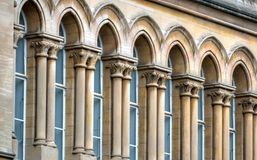 Stock image of Old architecture in Nottingham, England.  Royalty Free Stock Photography