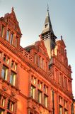 Stock image of Old architecture in Nottingham, England royalty free stock photo