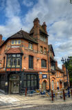 Stock image of Old architecture in Nottingham, England Royalty Free Stock Photos