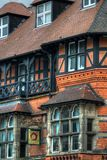 Stock image of Old architecture in Nottingham, England.  Royalty Free Stock Photos