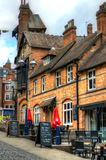 Stock image of Old architecture in Nottingham, England.  Royalty Free Stock Photo