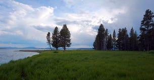 Stock image of Pelican Creek Trail, Yellowstone National Park, USA stock photo