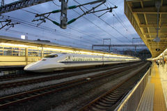 Stock image of Shinkansen Bullet Train, Japan Stock Image