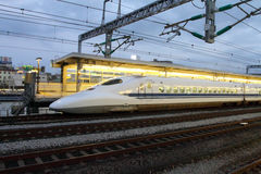 Stock image of Shinkansen Bullet Train, Japan Royalty Free Stock Image