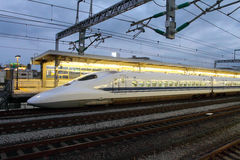 Stock image of Shinkansen Bullet Train, Japan Stock Photography