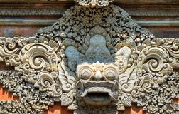 Stock image of Ubud palace, Bali, Indonesia.  Royalty Free Stock Photo