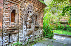 Stock image of Ubud palace, Bali, Indonesia Royalty Free Stock Images