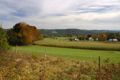 Stock image of Vermont countryside, USA Royalty Free Stock Images